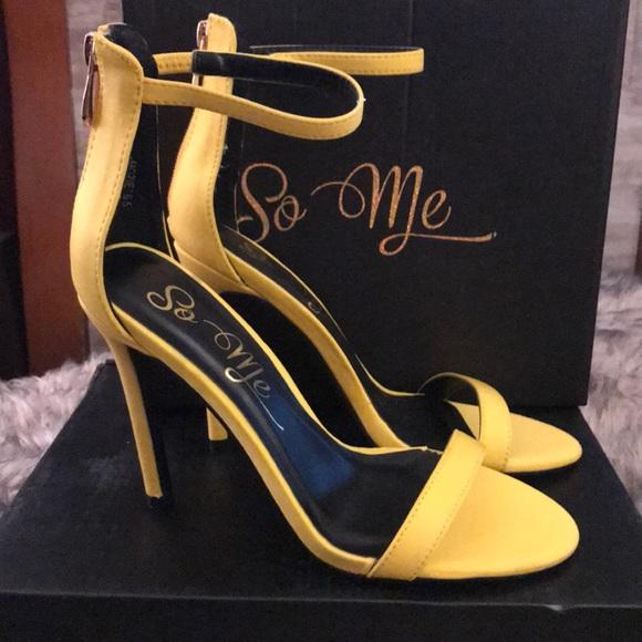 "Fashion Nova Shoes - ⭐️FASHION NOVA/SO ME ""Mozie"" Heels⭐️ NEW"